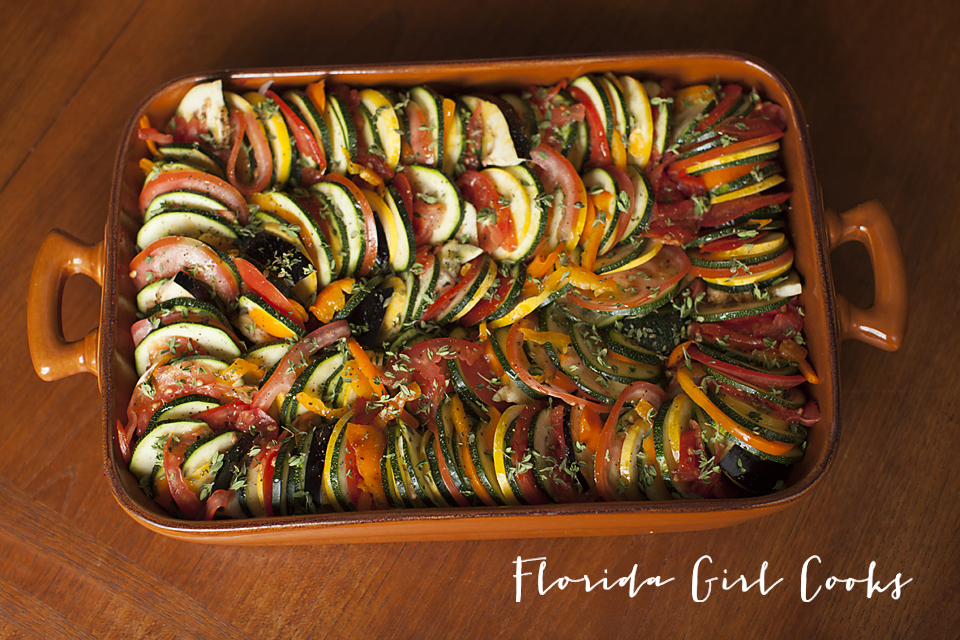 RUSTIC RATATOUILLE | Florida Girl Cooks