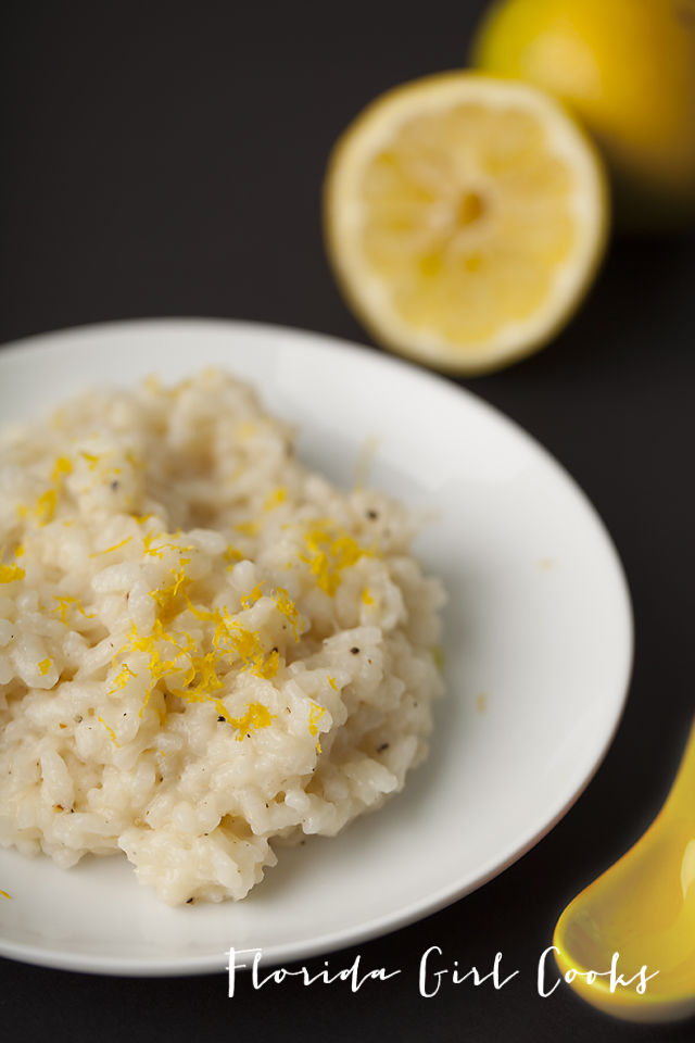 lemon pepper risotto, lemon, risotto, summer, rice, creamy